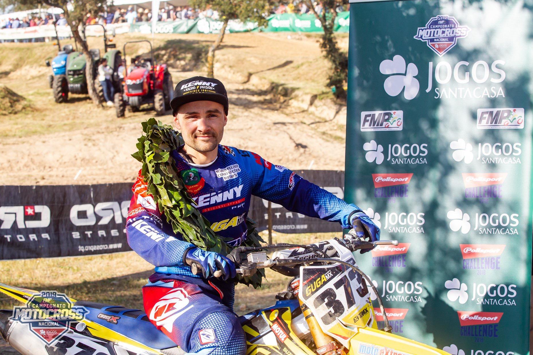 CN Motocross: Sandro Peixe campeão Elite na vitória de Paulo Alberto