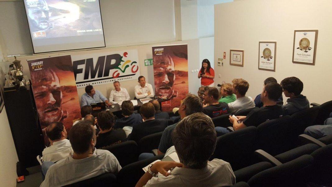 Dakar 2020 apresentado em Portugal