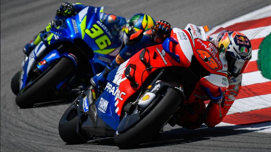 MotoGP: Treinos em Barcelona com Márquez à frente