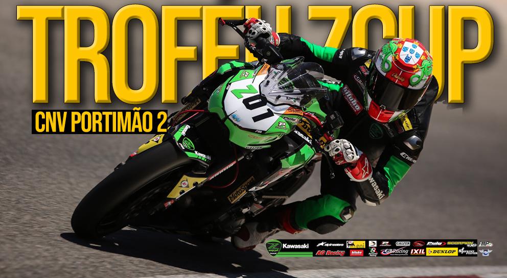 Troféu Kawasaki ZCUP.PT no CNV em Portimão – Uma prova atribulada mas divertida