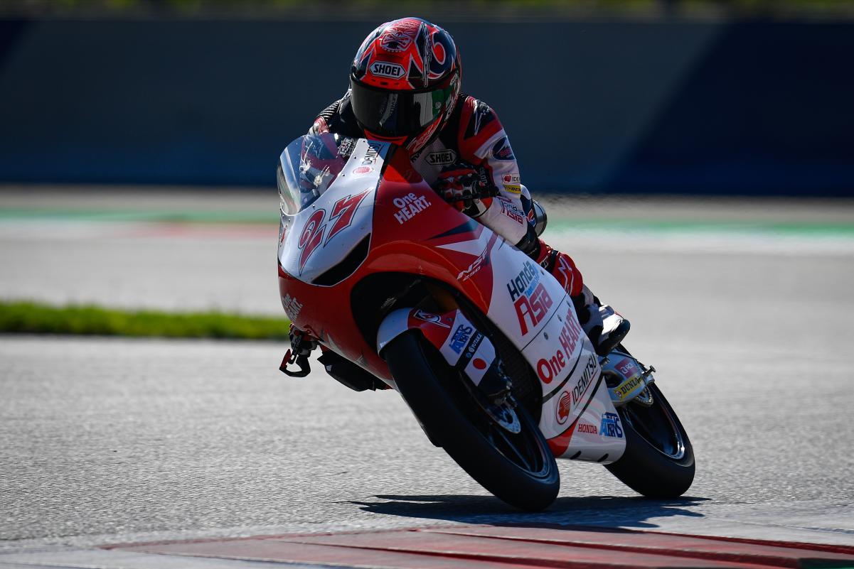 Moto3: Kaito Toba lidera os repescados à Q2