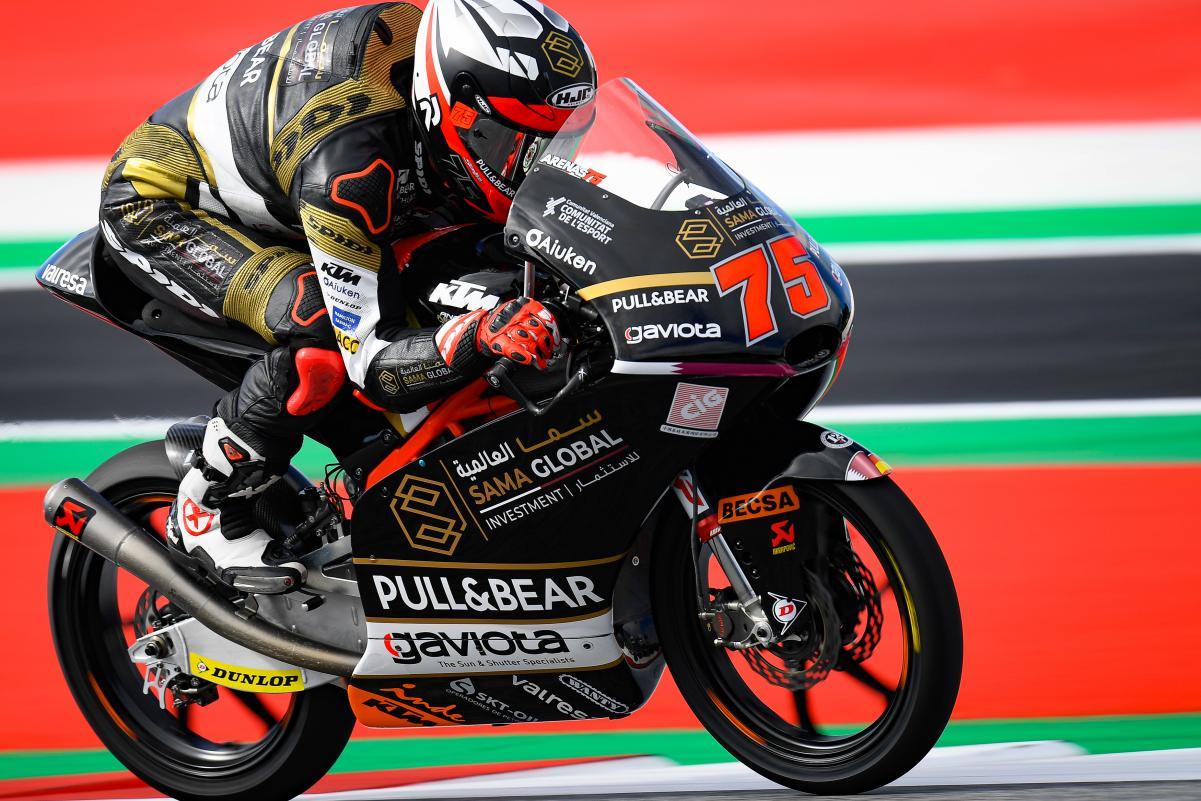 Moto3: FP2 liderada por Arenas