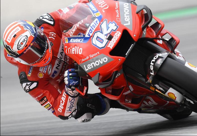 MotoGP, Q1: Dovizioso e Rins sobem à Q2