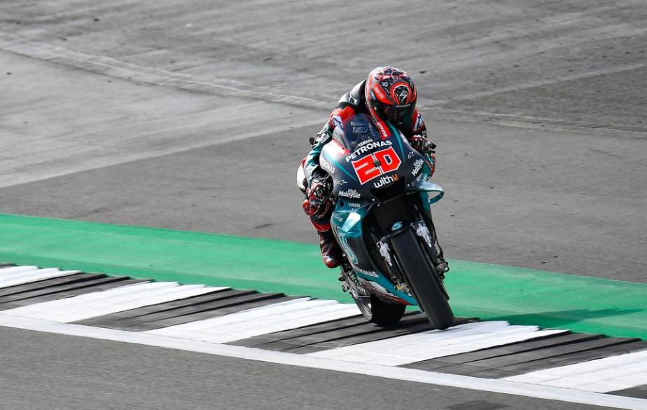 MotoGP: volte-face coloca Quartararo à frente