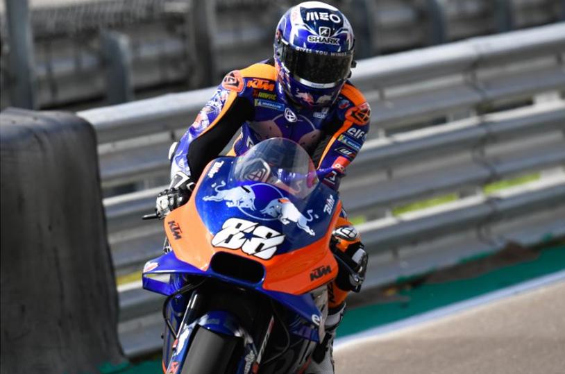MotoGP: Oliveira pára com problema de motor