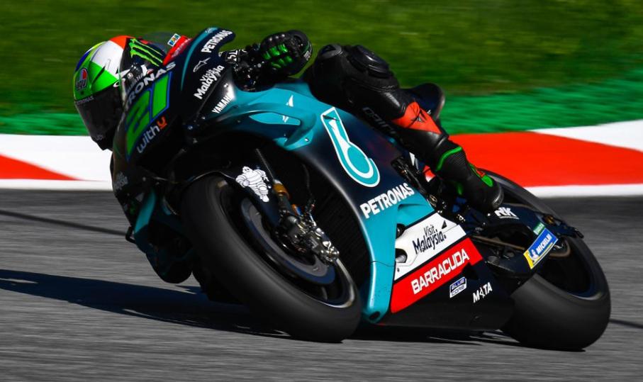 MotoGP: Yamahas em forma no Top 7