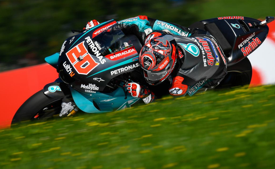 MotoGP, FP1: Quartararo à frente