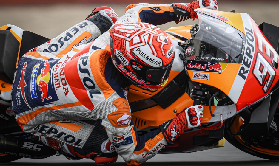 MotoGP, FP4: Márquez à frente, Oliveira 10º