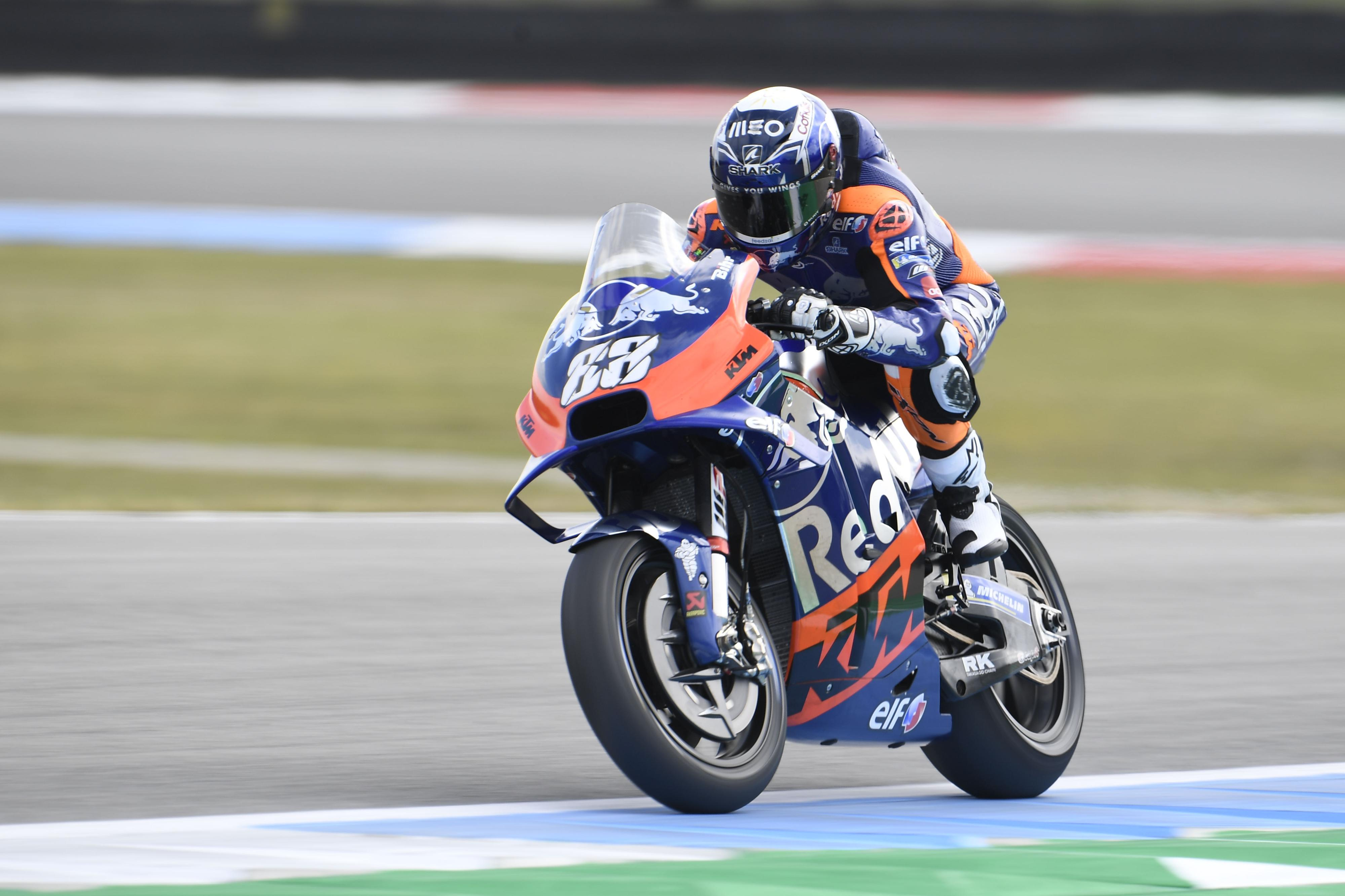 MotoGP: Oliveira em 15º permite sonhar