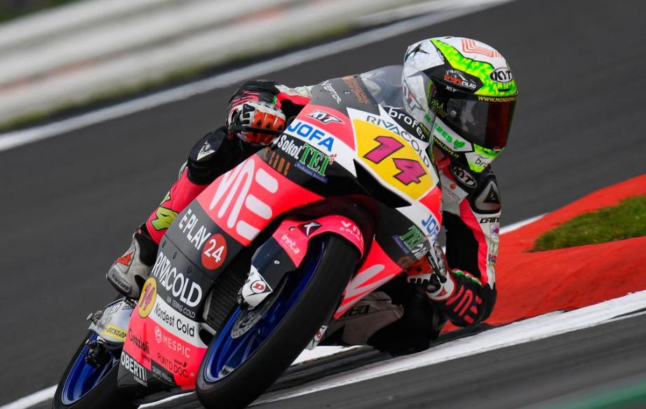 Moto3, FP3: Arbolino à frente de novo