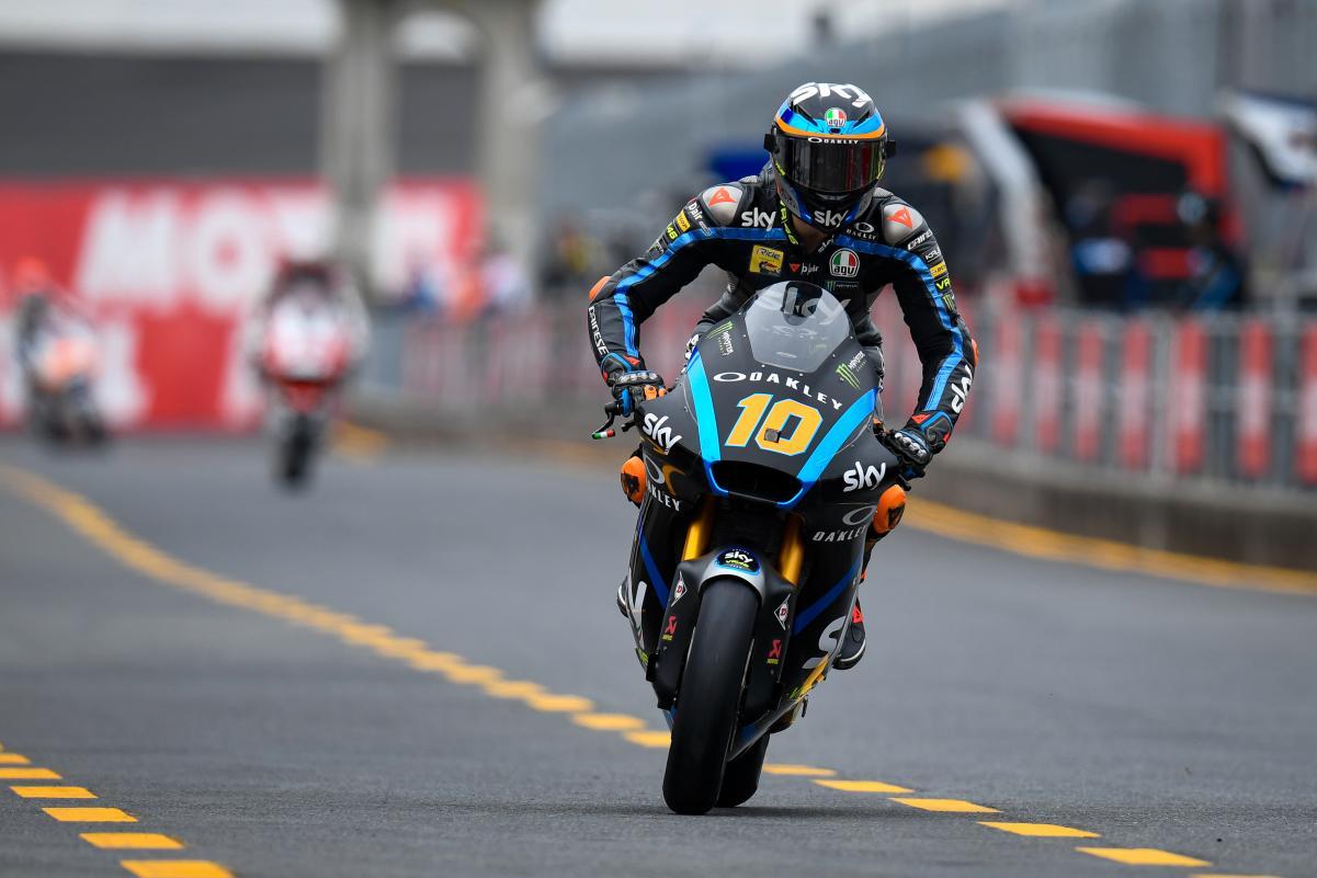 Moto2, Motegi: Vitória controlada de Marini