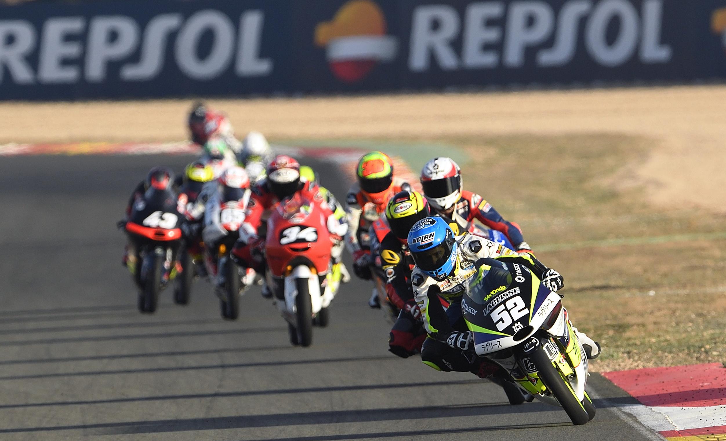 CEV,Repsol: Alcoba não deu hipótese das Moto3 em Albacete