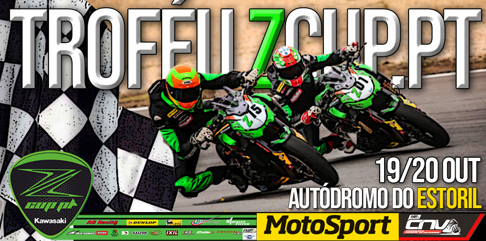Troféu Kawasaki ZCUP.PT – Último Round 2019 no Autódromo do Estoril 19/20 Out.