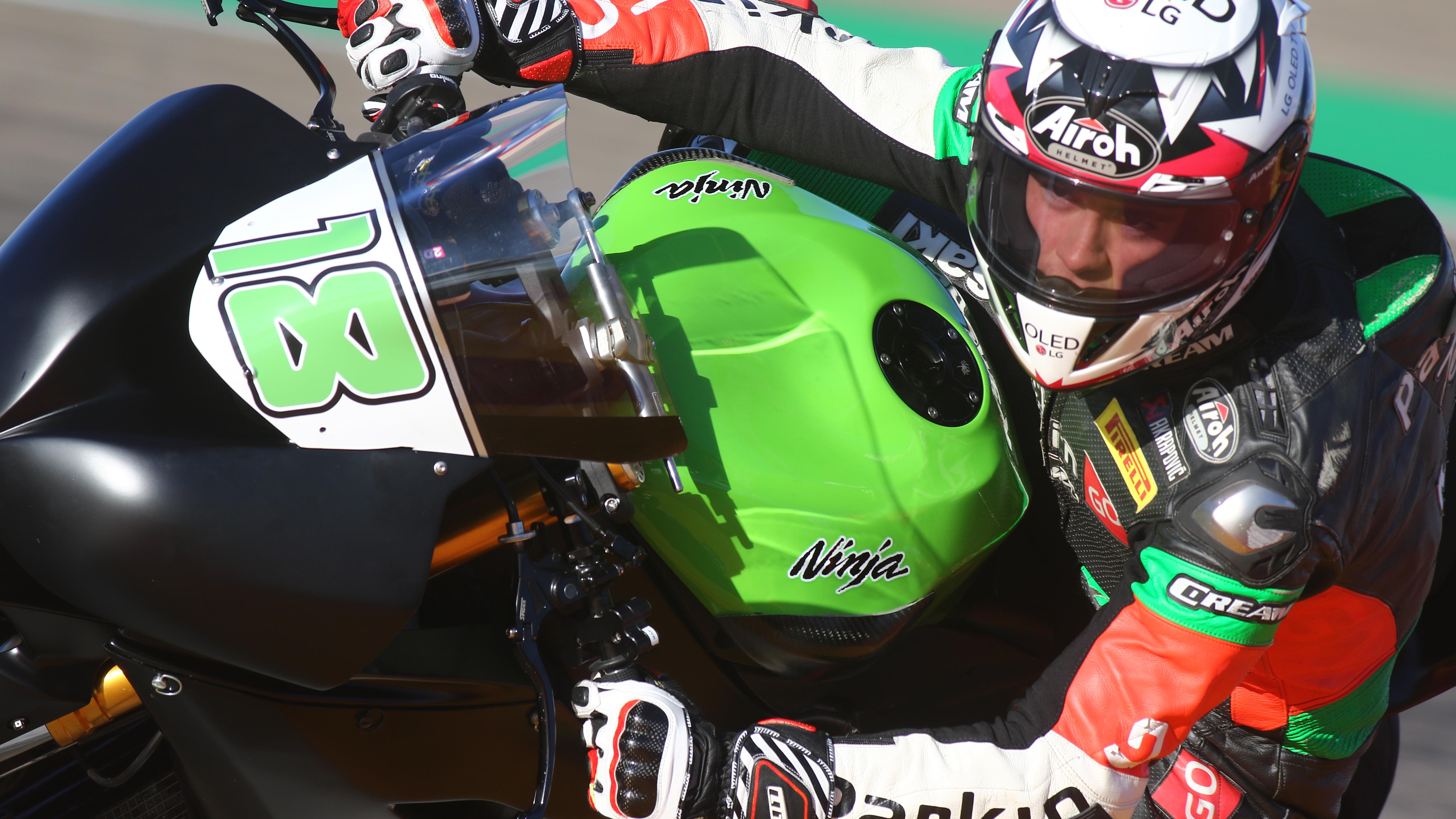 SSP: Gonzalez testou Kawasaki ZX6R
