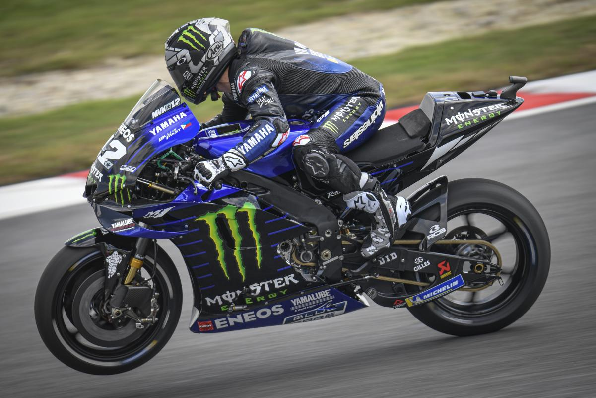 MotoGP, Valencia: Viñales lidera 2º Dia de testes