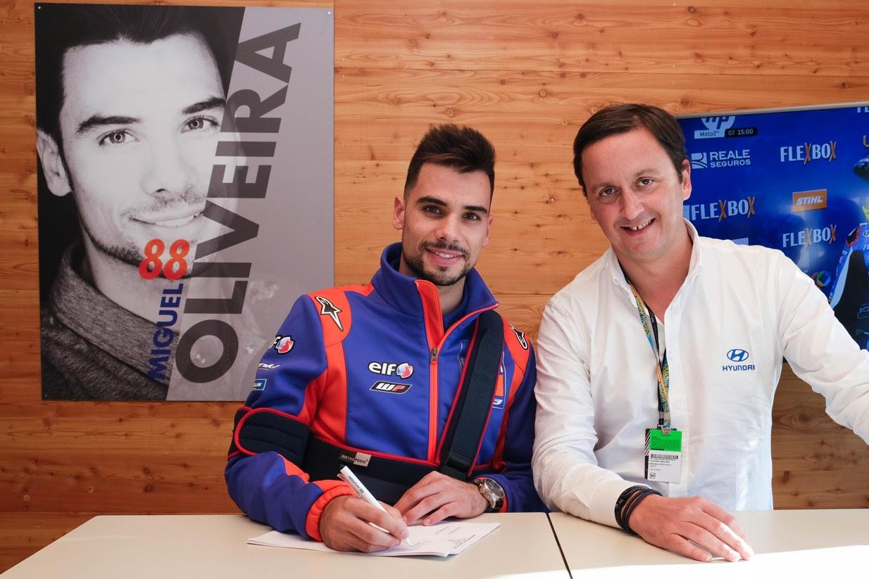 MotoGP, 2020: Hyundai renova com Miguel Oliveira