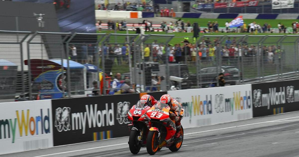 MotoGP: Grande Prémio da Áustria votado o melhor de 2019