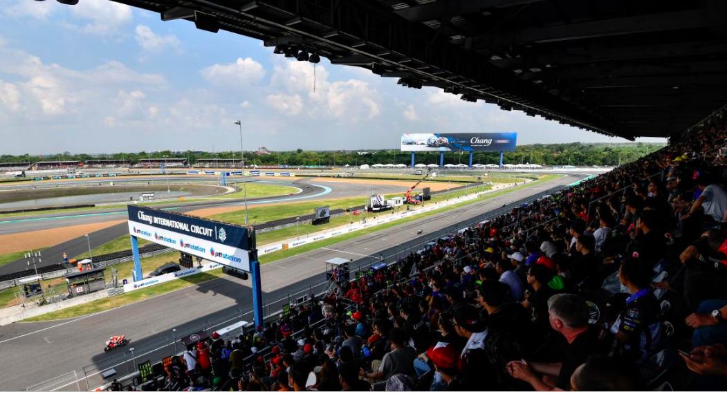 MotoGP: Buriram com mais espetadores em 2019