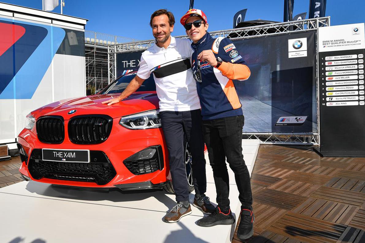 MotoGP: Márquez vence o Prémio BMW M pela sétima vez