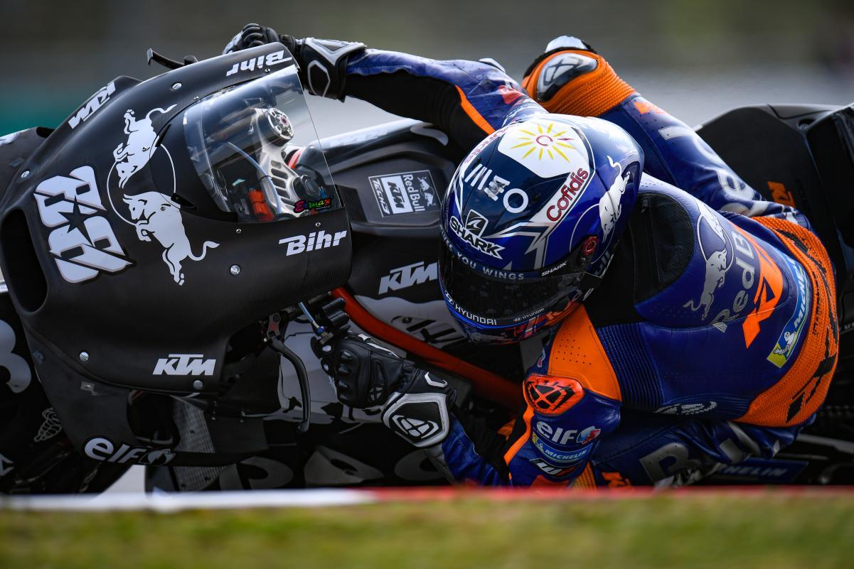 MotoGP, Teste Qatar: Oliveira em 16º admitiu dia problemático
