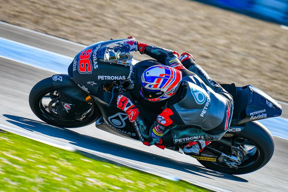 Moto2, 2020: Dixon fratura dedo, mas espera estar no Qatar