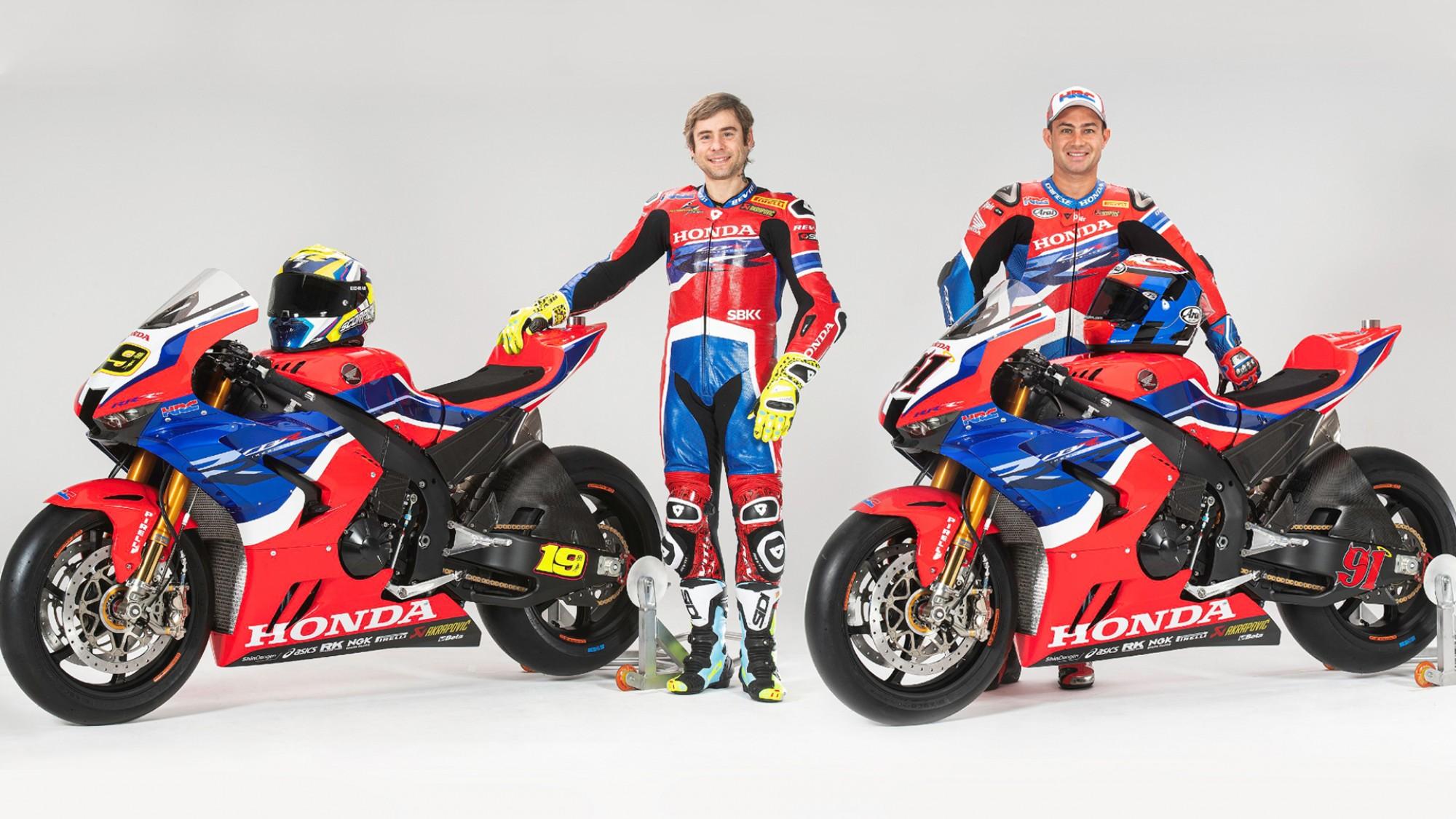 SBK, 2020: Honda revela equipa